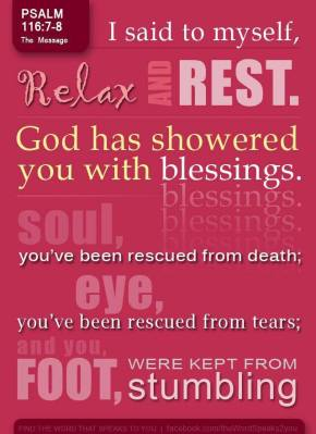Are You Resting In God?
