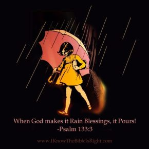 God, Rain Down Your Blessings