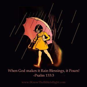 *Rain Blessings-Prvb