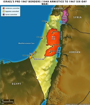 Breaking News! European Union Issues Order To Redraw Israel To 1949 Borders