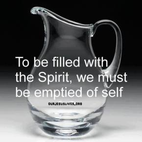 Make Room! The Holy Spirit Wants To Fill You Up